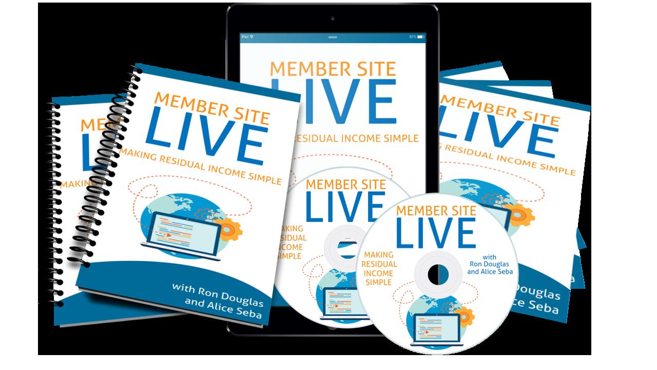 Member Site Live